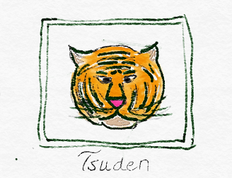 Tsuden drawing