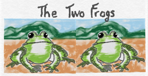 the two frogs 2