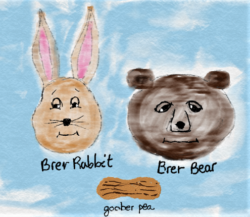 brer rabbit and brer pea