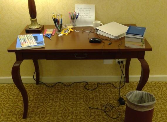 hotel desk